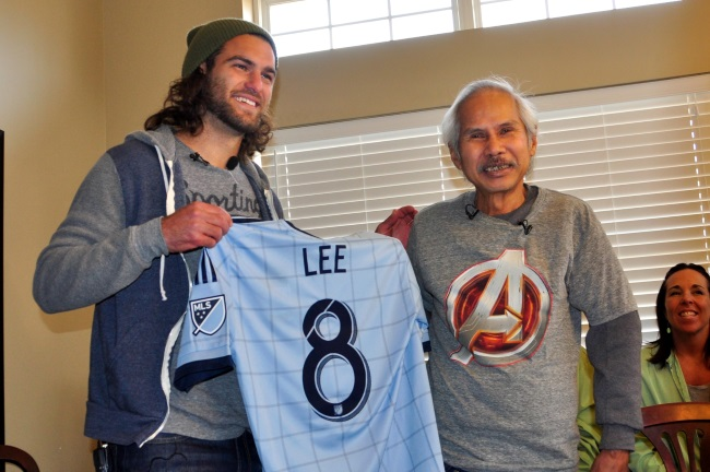graham zusi surprises terminally ill fan