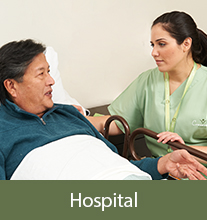 hospice service in a green ohio hospital