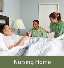 hospice in a gladstone nursing home