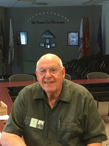 Veteran Volunteer Bill McCrea
