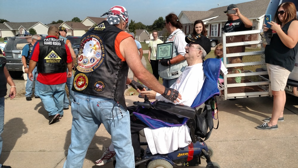 patriot guard gift of a day