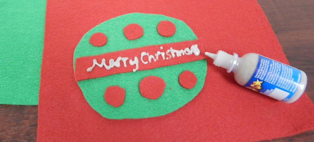 felt ornament craft