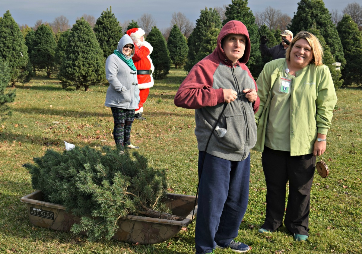 christmas tree farm hospice patient