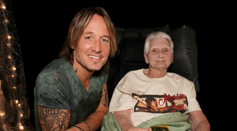 keith urban hospice patient gift of a day