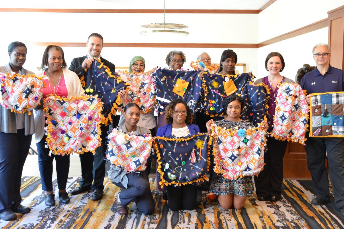 Using Fidget Blankets For Alzheimer S Or Dementia