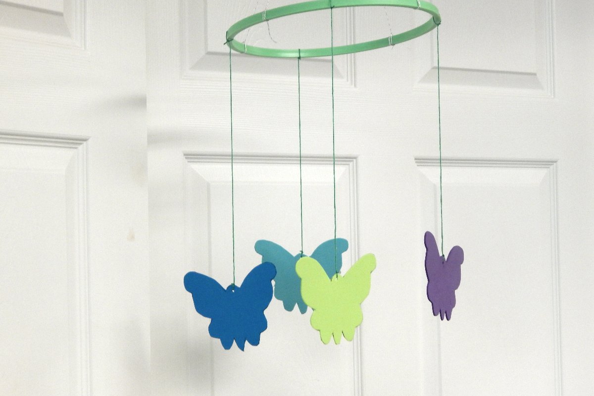 butterfly mobile dementia crafty