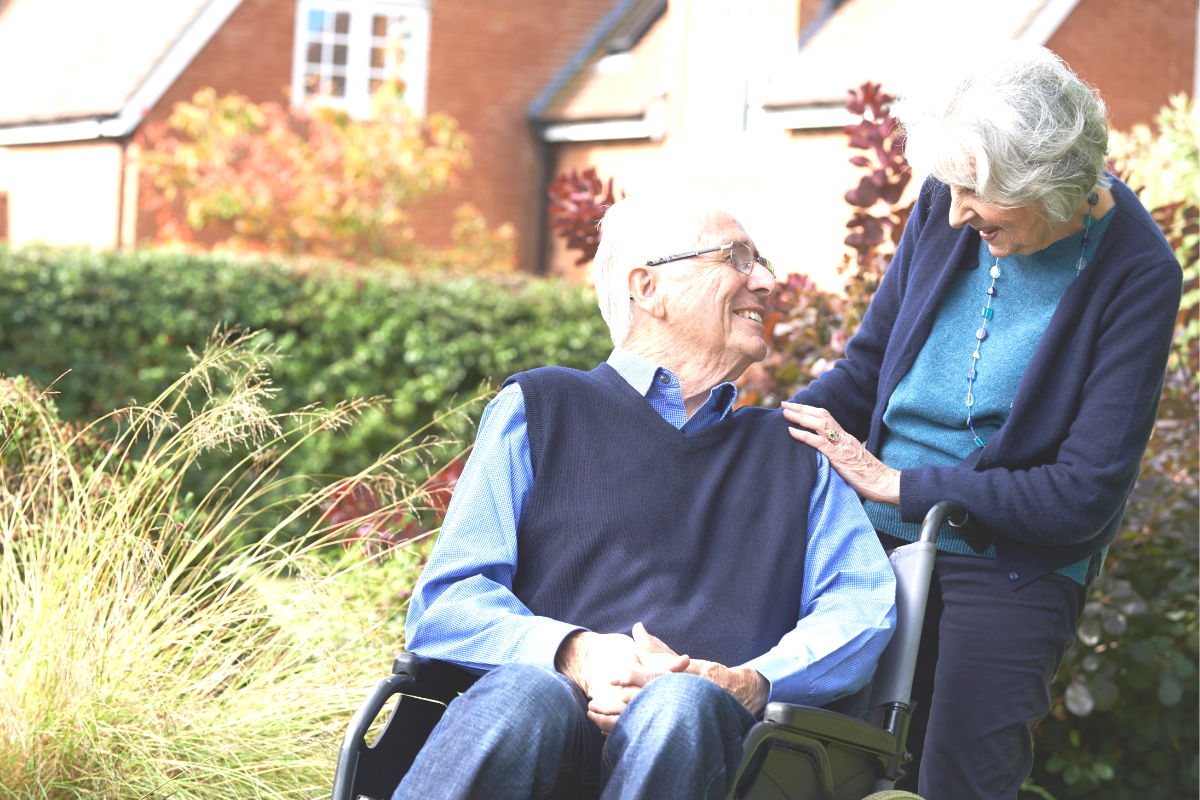 caring for a spouse with alzheimers
