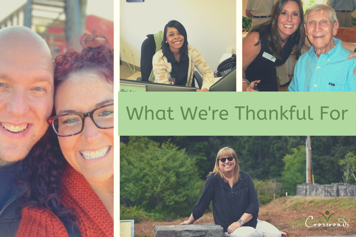 crossroads hospice what we're thankful for
