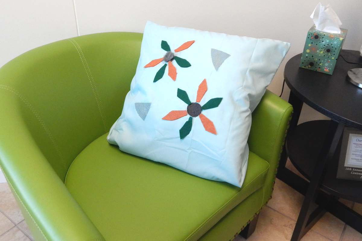 dementia tactile stimulation pillow